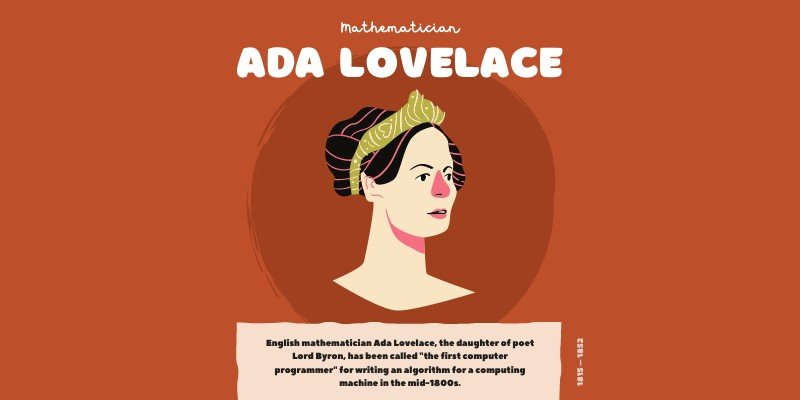 Graphic of Ada Lovelace